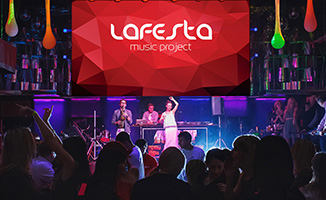 LAFESTA music project, music band lafesta, live music for event, DJ vocal sax, best music project