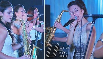 LAFESTA music project, cover band, party band, wedding band, musicians for corporate party, artists for event, booking artists for wedding party